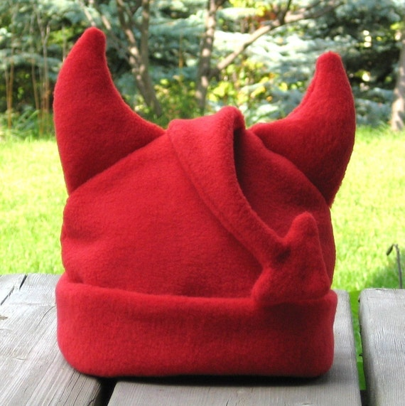 Lil Devil Hat Sewing Pattern