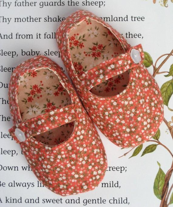 SWEET LITTLE MARY JANE SHOES PDF PATTERN