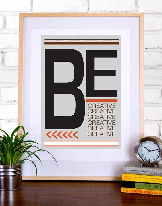 Be Creative - No.1