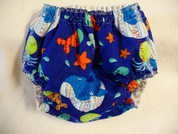 SALE---Diaper Cover Waterproof Pull Up  Aio  Small