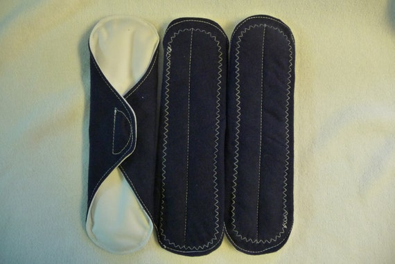 Special--  8 Inch  Menstrual (Mama) Pads   All In One  - Save On  Set  Of  3