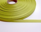 Lime Green Grosgrain Ribbon 3/8 inch wide x 4 yards