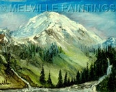 Mt. Rainier ---Miniature