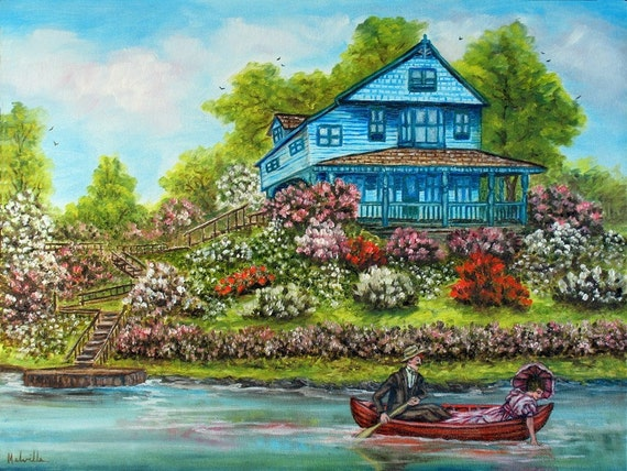 Courting in a Canoe