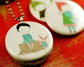 Picture Locket - TOLLIPOP Magic of Childhood Recycled Magnetic Locket Set