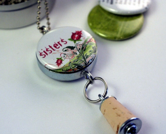 SISTERS 4 EVER Recycled Magnetic LOCKET SET By Polarity