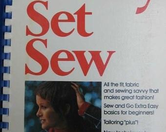Vintage Ready Set Sew Fashion Book by Butterick