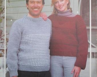 Vintage Bouquet Polar Knitting Sweater Pattern