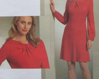 Vogue Womens Dress Pattern Tom and Linda Platt
