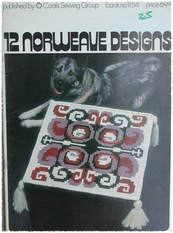 Norweave Designs Norwegian Embroidery Akle Pattern Book