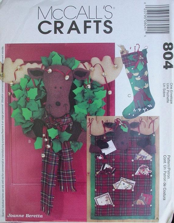 Christmas Moose Craft Patterns