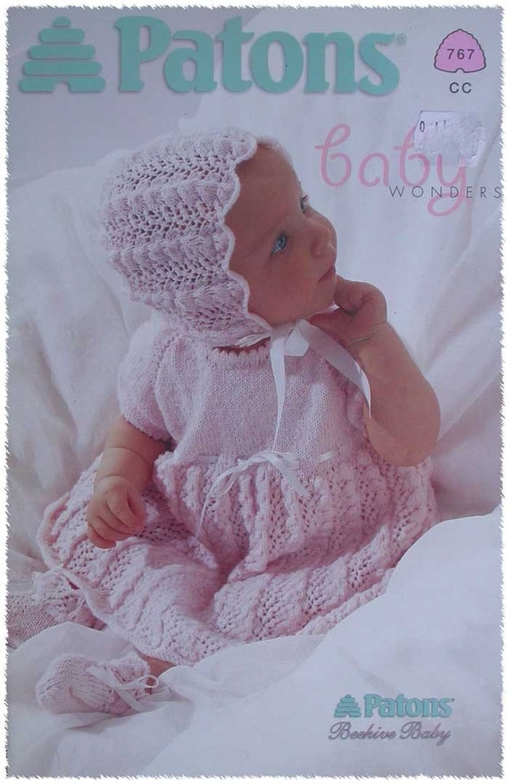 Patons Knitting Patterns For Babies : PATONS BABY WONDER KNITTING PATTERN BOOKLET