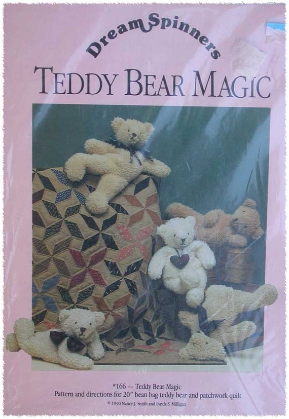Teddy Bear Bean Bag Pattern By Thehowlinghag On Etsy