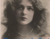 EXOTIC YOUNG Lady Vintage Photo REPRINT