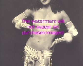 BURLESQUE Sexy FLAPPER Vintage Photo Reprint