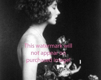 GLAMOROUS FLAPPER Showgirl Vintage Photo Reprint