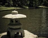 "In the Garden- photograph- view on Chinese Garden in the Duke Gardens in Durham North Carolina - 8x10"" (20x25cm)"