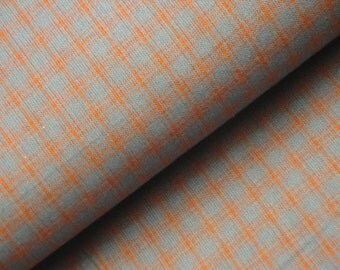 SALE SALE SALE Plaid Homespun Fabric | Plaid Fabric | Primitive Fabric | Edna Country Patchwork Basics E3DN | Sold By The Yard