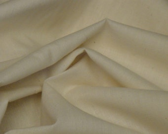 Natural Muslin 38 Inches Wide 1 Yard