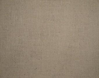 Natural Osnaburg Cotton Fabric 1 Yard