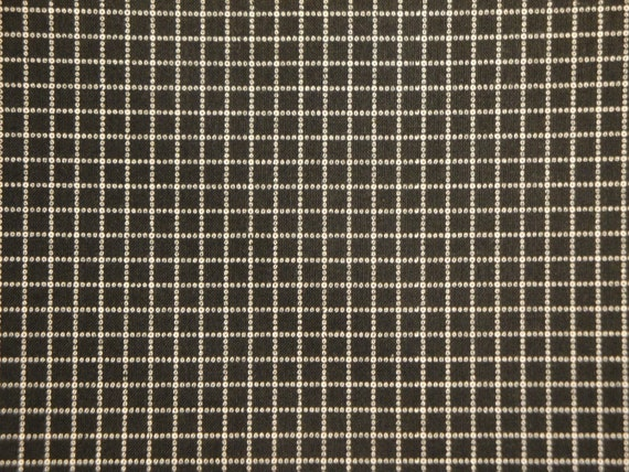 Black Window Pane Material Always And Forever By Alex Anderson For P & B  -  LAST  PIECE