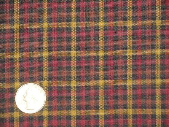 Homespun Fabric Cotton Fabric Quilt Fabric Home