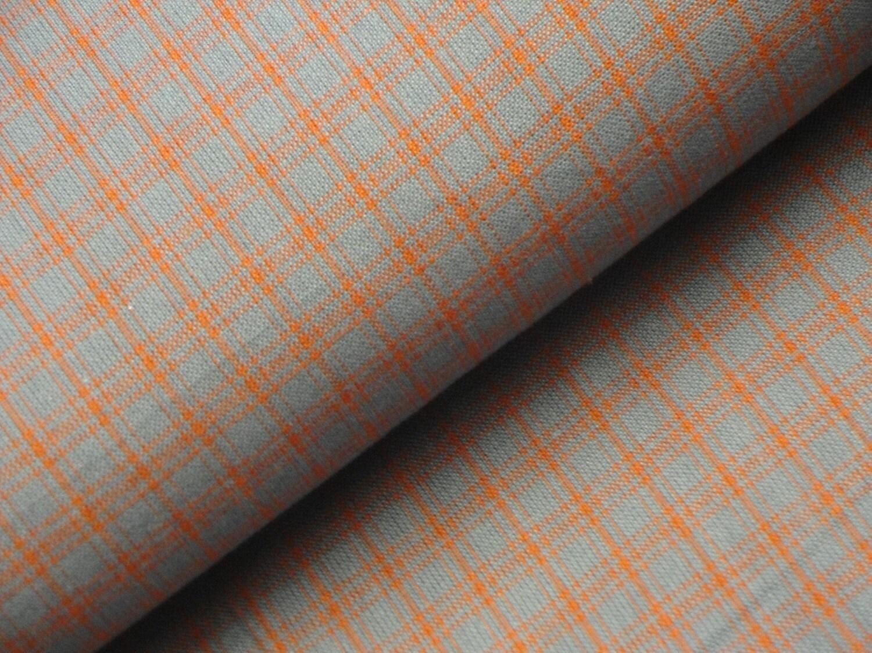 Plaid Homespun Fabric Plaid Fabric Primitive Fabric Edna