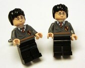 Harry Potter silver toned cufflinks in gift box