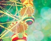Fine Art Carnival Photo - Tibidabo