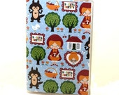 Vinyl Passport Cover Case Little Red Riding Hood