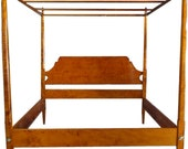 Tate Taylor's Tiger Maple King Pencil Post Canopy Bed - The Help - Handmade to Order