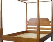 Cherry Pencil Post Canopy Bed - King - Custom-made to Order