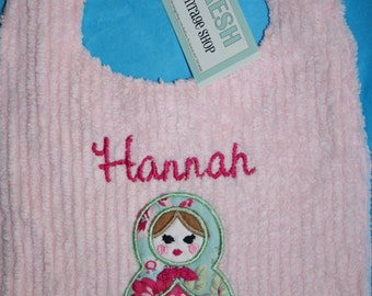 Custom Matryoshka Doll Bib Russian Doll