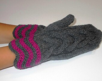 Mittens, Womens gift, Woman's Mittens  - Small size - READY TO SHIP