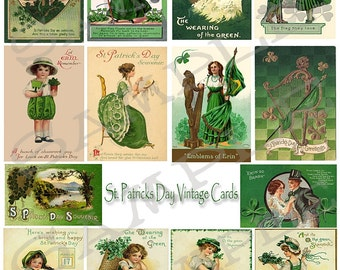 Saint Pattys St Patricks Day Collage Sheet