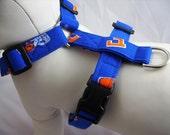 Dog Harness - Gator Blue