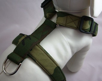 Dog Harness - Camouflage