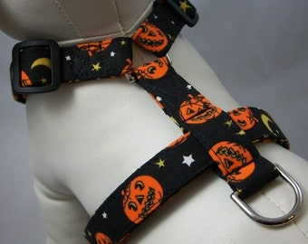 Dog Harness - Jack-O-Lantern