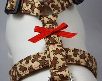 Dog Harness - Gingerbread