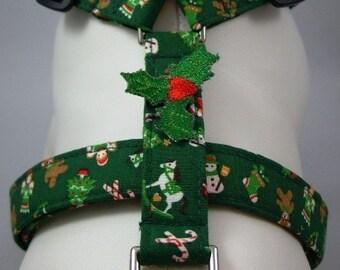 Dog Harness - Classic Christmas