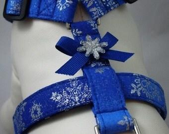 Dog Harness - Snowflake Sparkle
