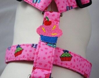 Dog Harness - Cupcake Cutey