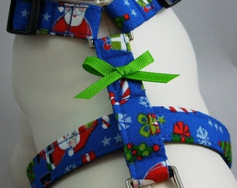 Dog Harness - Santa Claus