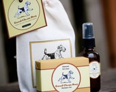 Dog Shampoo Bar & Spritzer GIFT SET for Good Clean Dogs....Featured in BARK Magazine's Holiday Gift Guide