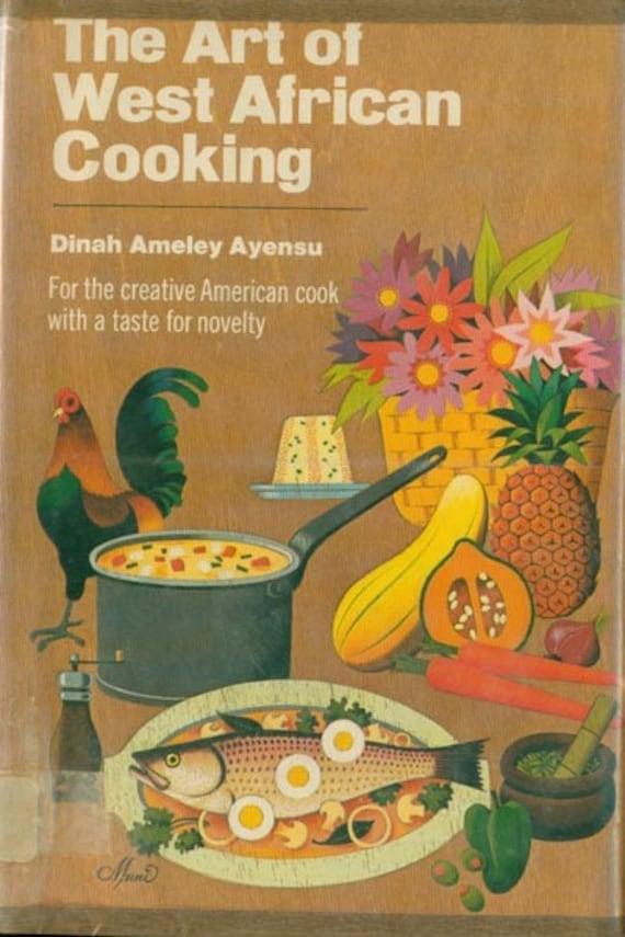 Vintage 70s The Art of West African Cooking Cookbook HBDJ