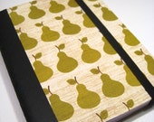 Notebook Altered Mini Composition Pears, Handmade Paper Goods by Zany on Etsy
