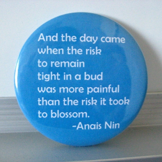 SALE Mirror Anais Nin Quote Pocket Mirror Buy 2 Get 1 Free Handmade Paper Goods by Zany on Etsy