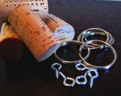 DIY Kit - Make Your Own Cork Keychains Set of 100