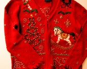 Ugly Christmas Sweater - Ladies Vintage Holiday