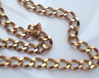 Copper Colored Brass Chain